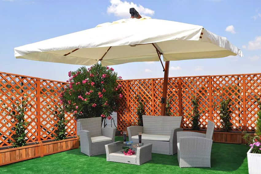 ombrelloni da giardino design.
