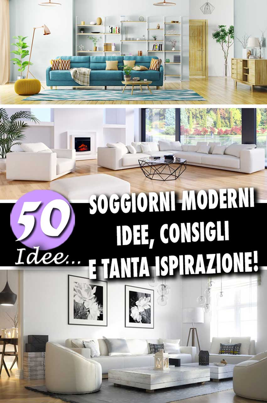 Angolo Tv Moderno soggiorni moderni: 50 idee per un arredamento moderno in salotto