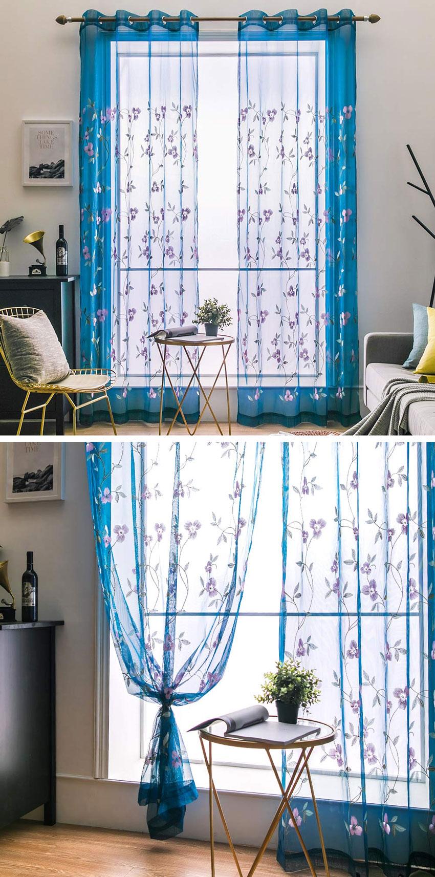 Le tende per arredare il soggiorno moderno | Estate 2019