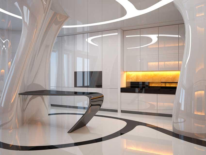 La cucina bianca: 25 idee moderne per contrastarla con un ...