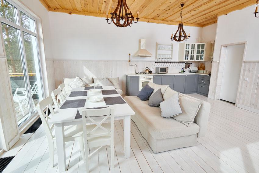 Open Space 40 Idee Per Arredare Cucina E Soggiorno In Un Unico Ambiente