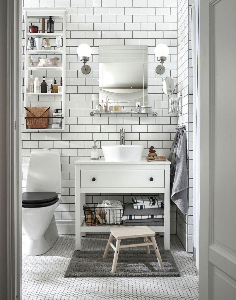 Arredamento piccolo bagno IKEA 2020.