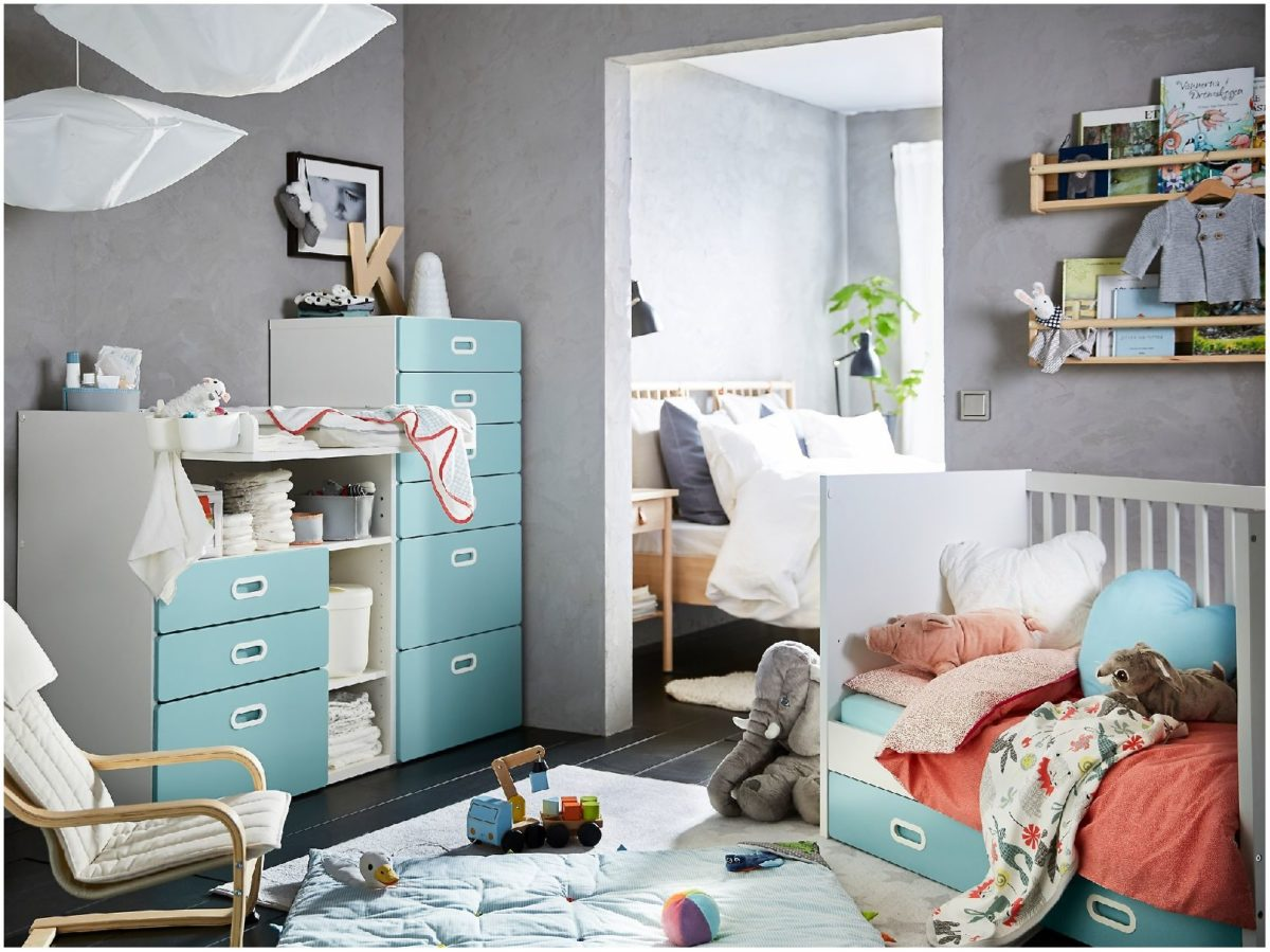 Anteprima camerette IKEA 2020, belle e colorate.