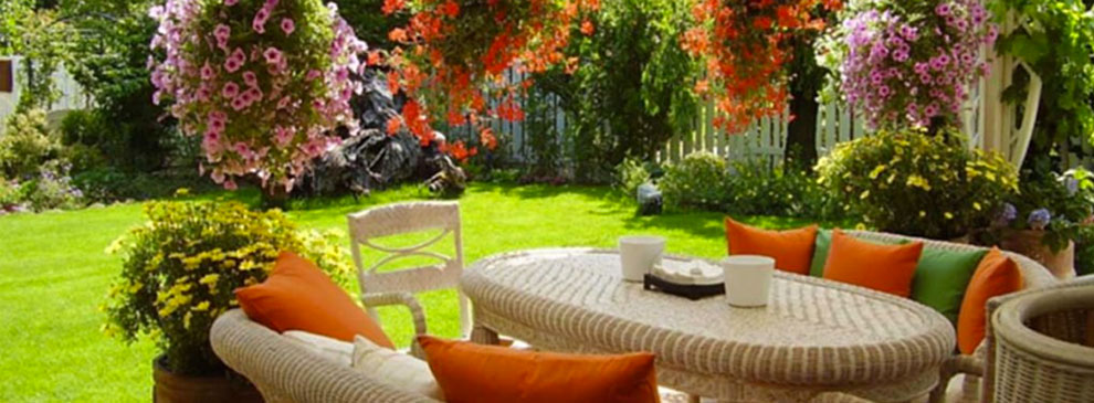 Idee per arredare il giardino di casa.