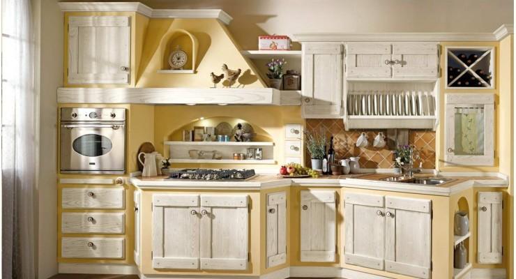 La classica cucina in muratura di mondo convenienza.