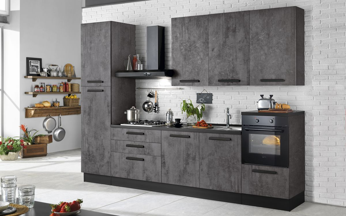 Cucina like di mondo convenienza, ottimo per arredare in stile industriale.