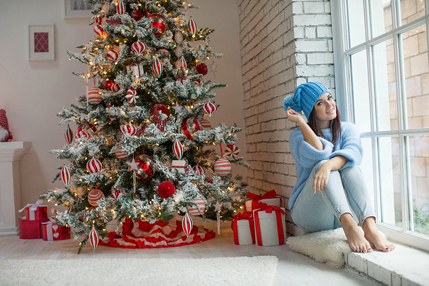 Albero Di Natale Rosso.L Albero Di Natale Bianco E Rosso Una Magia Intramontabile 20 Ispirazioni