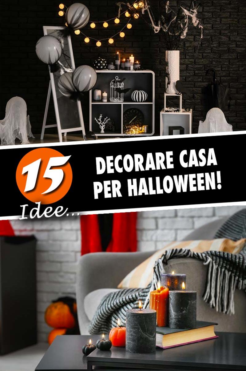 15 decorazioni Halloween per festeggiare in casa.