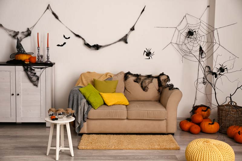 Decorazioni Halloween fai da te.