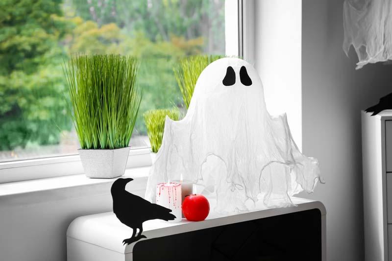 Decorazioni Halloween fai da te per festeggiare a casa.