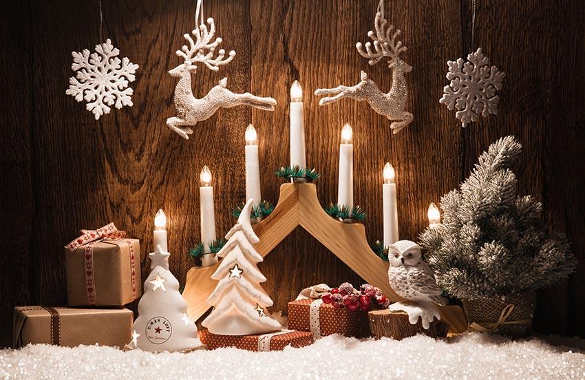 Le renne di Babbo Natale per addobbare casa.
