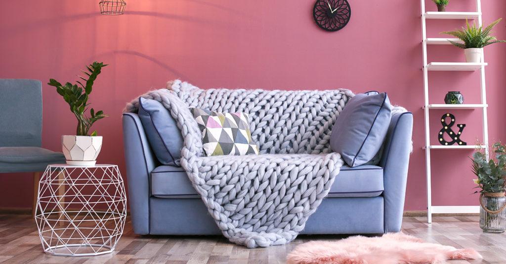 Idee per riscaldare casa con le decorazioni in inverno.