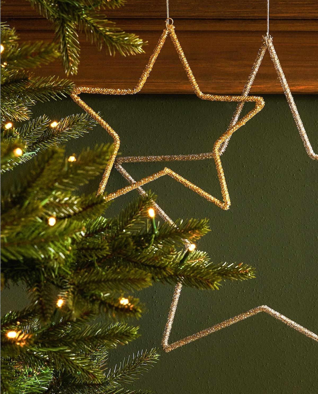 Stella per albero di Natale Zara Home.