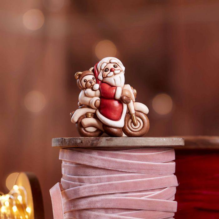 Babbo Natale in ceramica della Thun.
