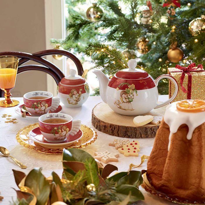 Set di 2 tazzine dolce Natale della Thun.