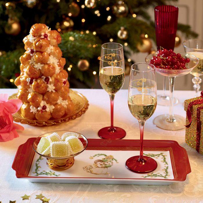 Vassoio per la tavola di Natale della Thun.