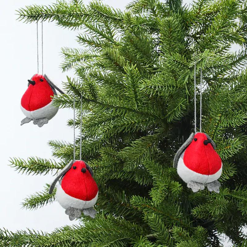 Uccellini decorativi IKEA per albero di Natale.