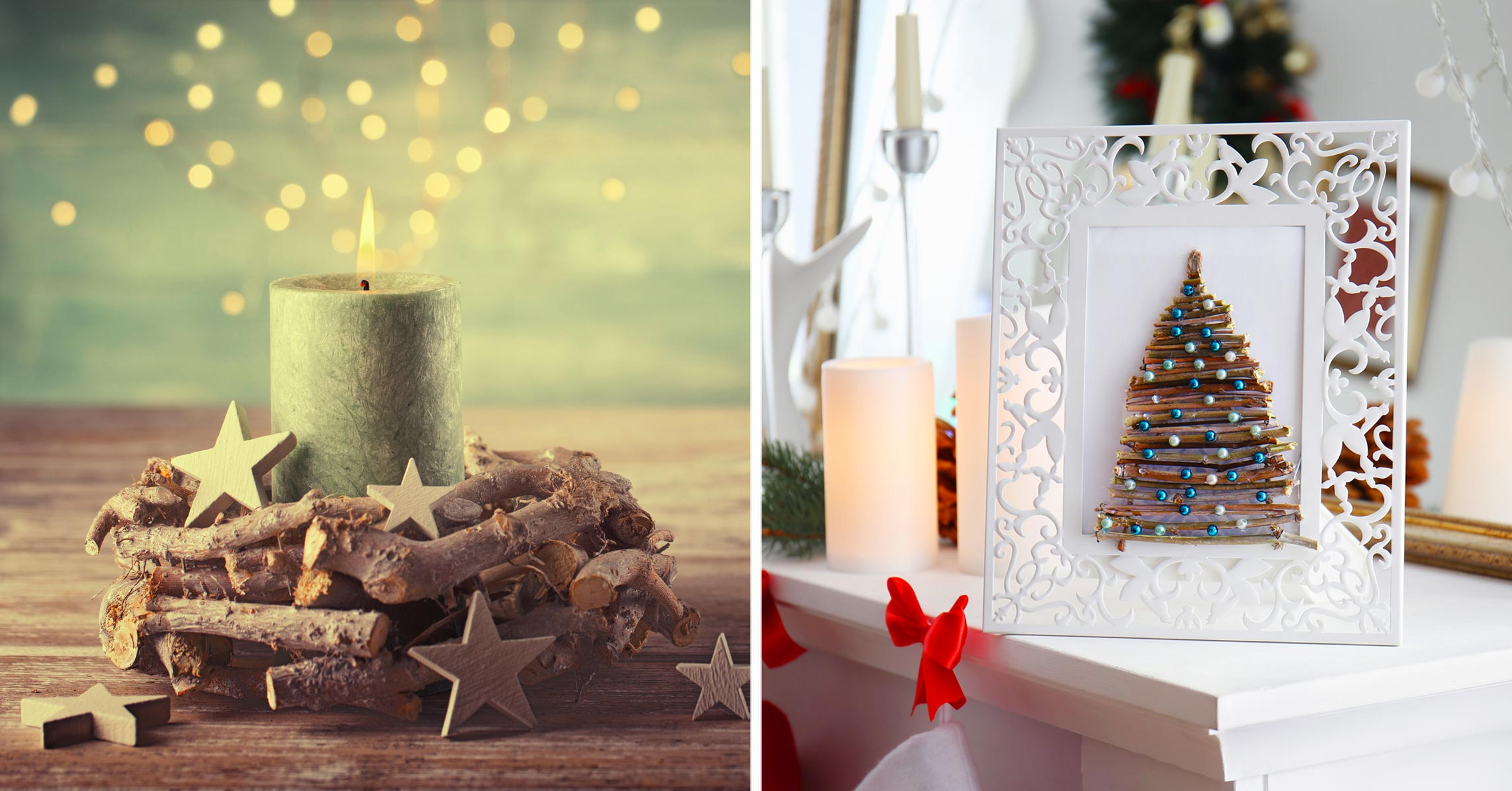 Stelle Di Natale Da Costruire addobbi natalizi con legno di recupero: 24 idee fai da te da