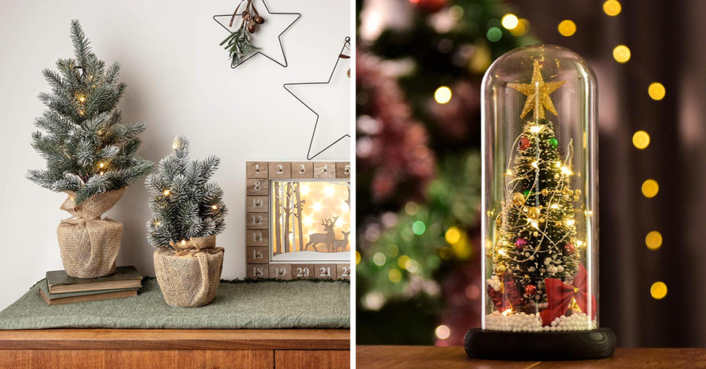 15 alberelli di Natale per decorare casa.
