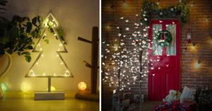 10 alberi luminosi per Natale.