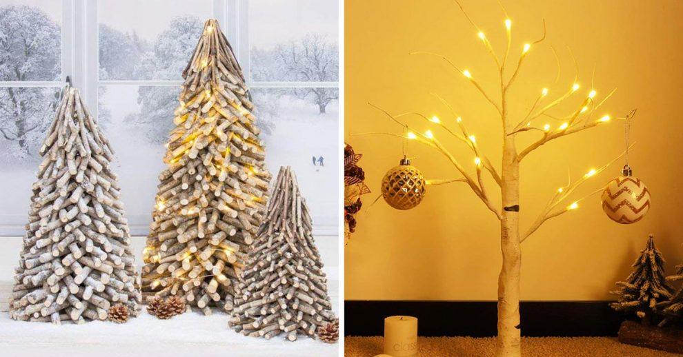 Idee albero di natale moderno