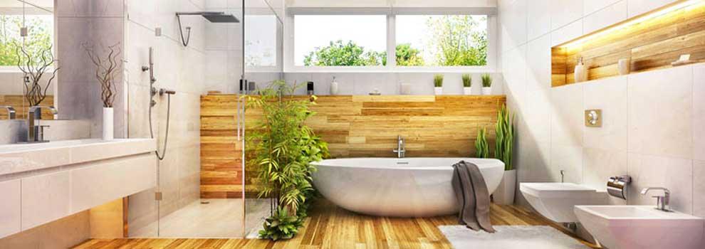 Interni casa, arredare il bagno in stile moderno.