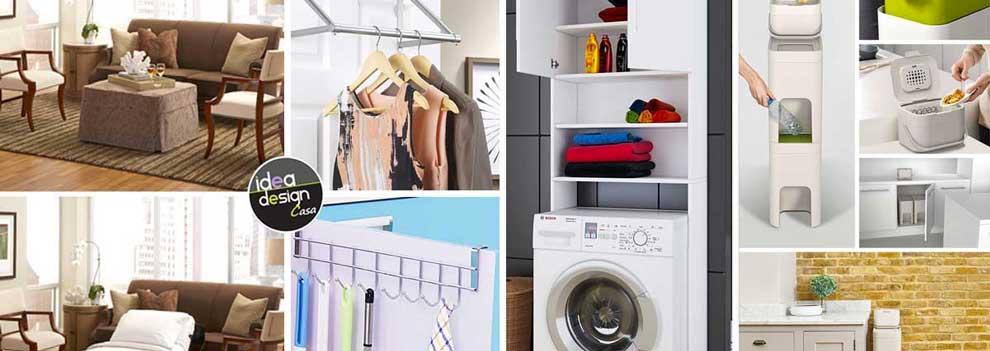 Come arredare un piccolo appartamento con arredamento salvaspazio.