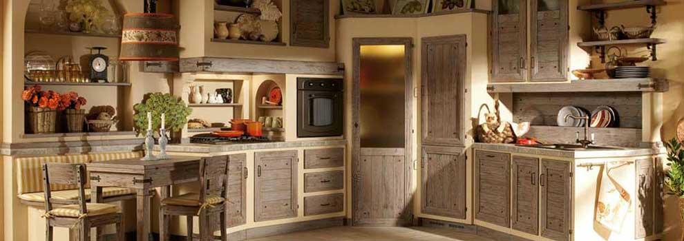 Idee per la casa, arredare la cucina in muratura.
