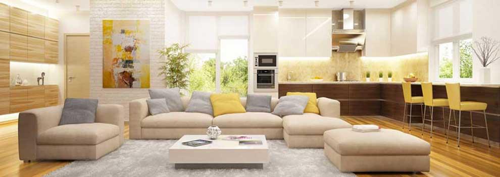 Arredamento casa, come arredare un soggiorno moderno.