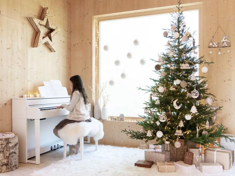 Scritta Natale decorazioni Maisons du Monde.