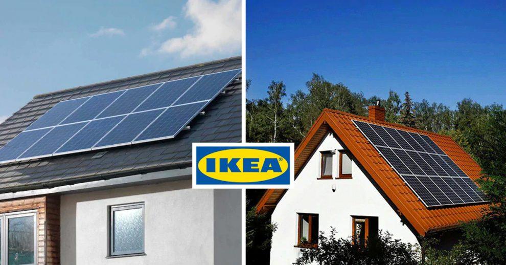 Scopri i pannelli solari IKEA.