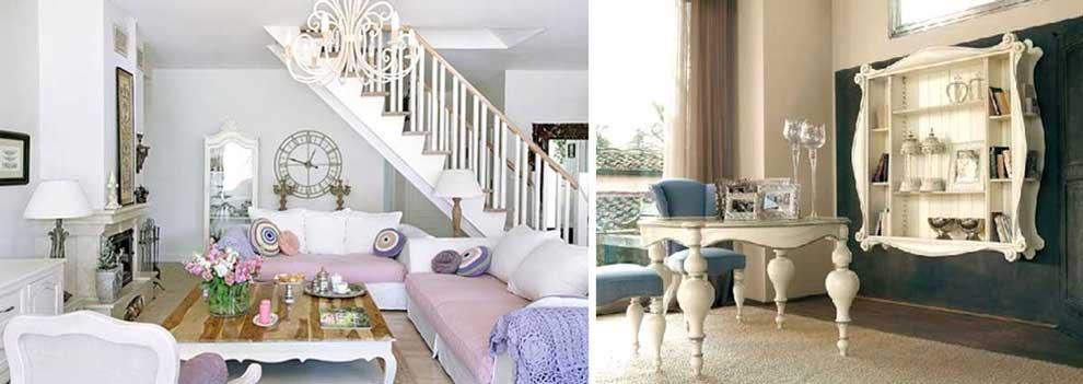 Arredare casa in stile shabby chic, foto e idee originali.