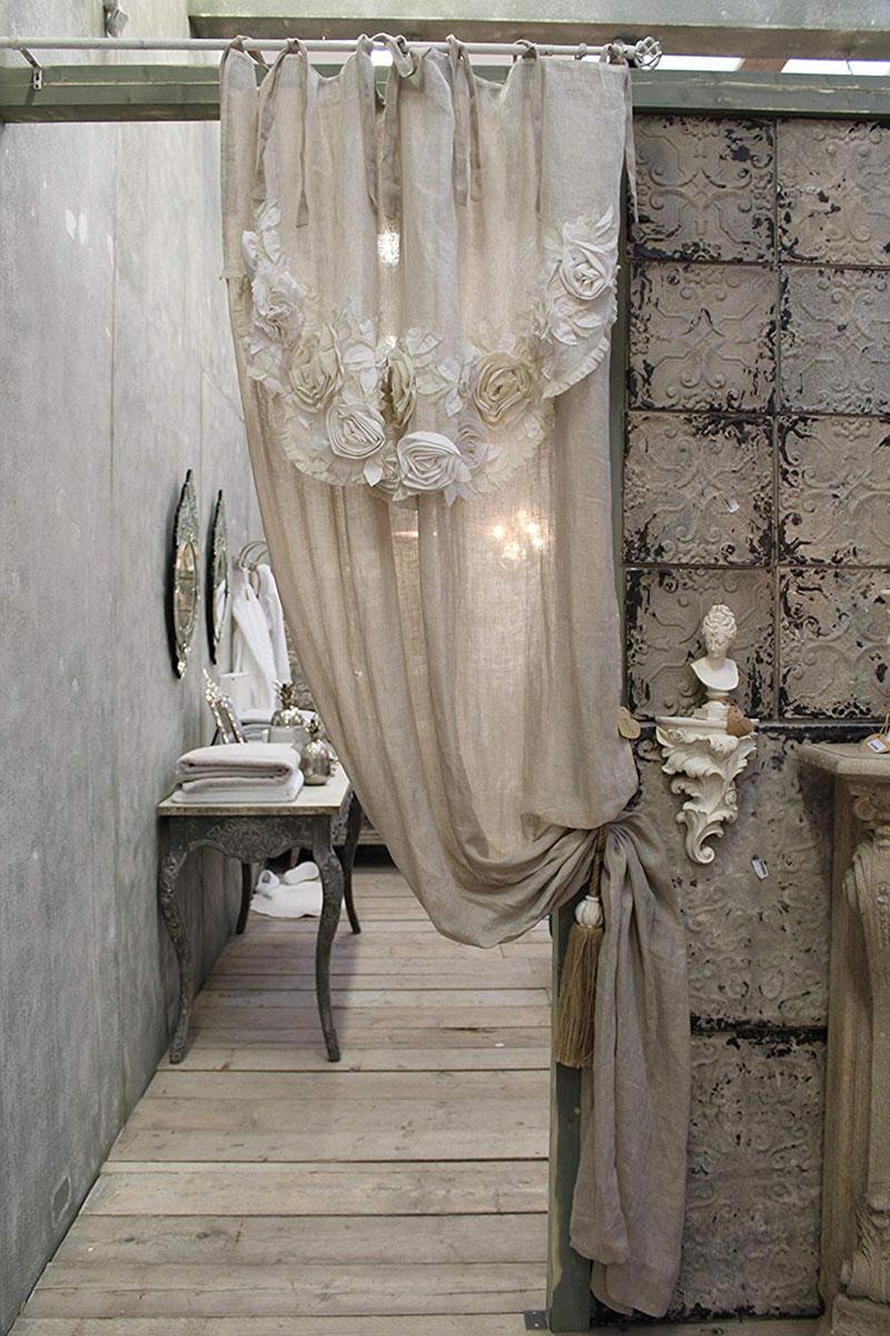 Tende Per Finestre Scale le più belle tende shabby chic per la tua casa! 40