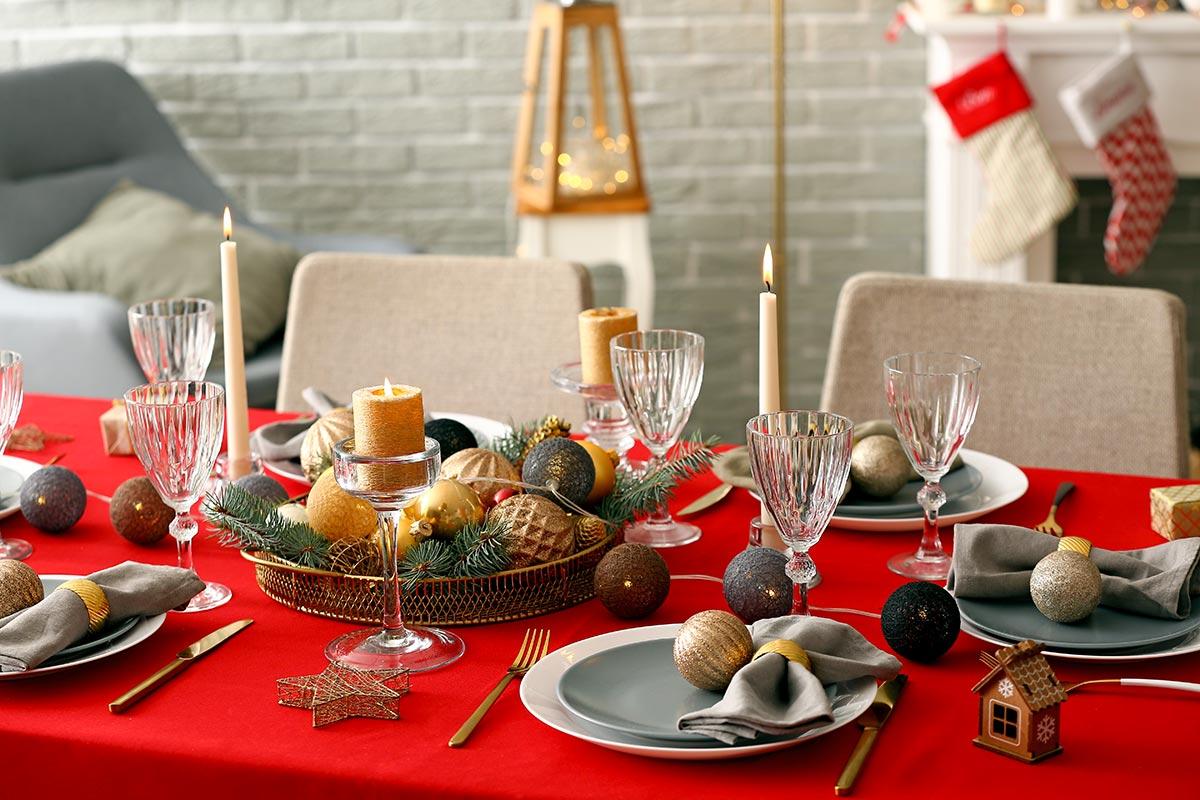 Arredare Tavola Natale come addobbare la tavola di natale? la risposta con 40