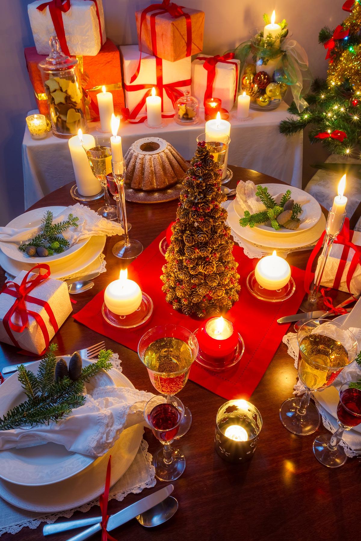 Come addobbare la tavola di Natale? La risposta con 40 ...