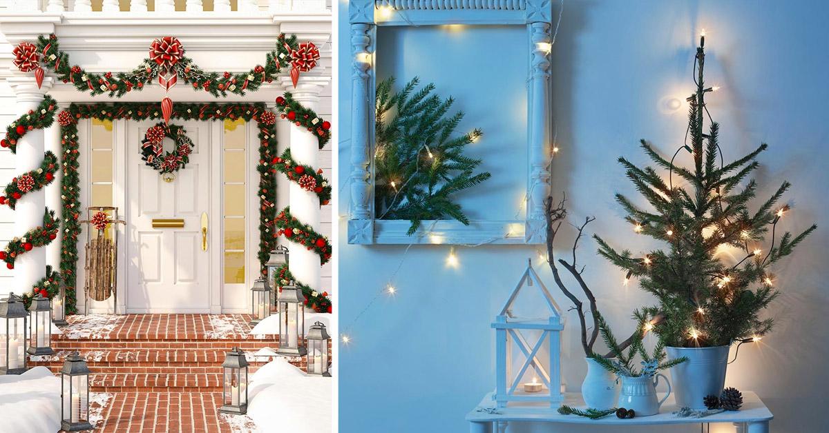 Casa Addobbi Decorazioni Natalizie.Come Addobbare La Casa Per Natale Ecco Le Piu Belle Ispirazioni Natalizie