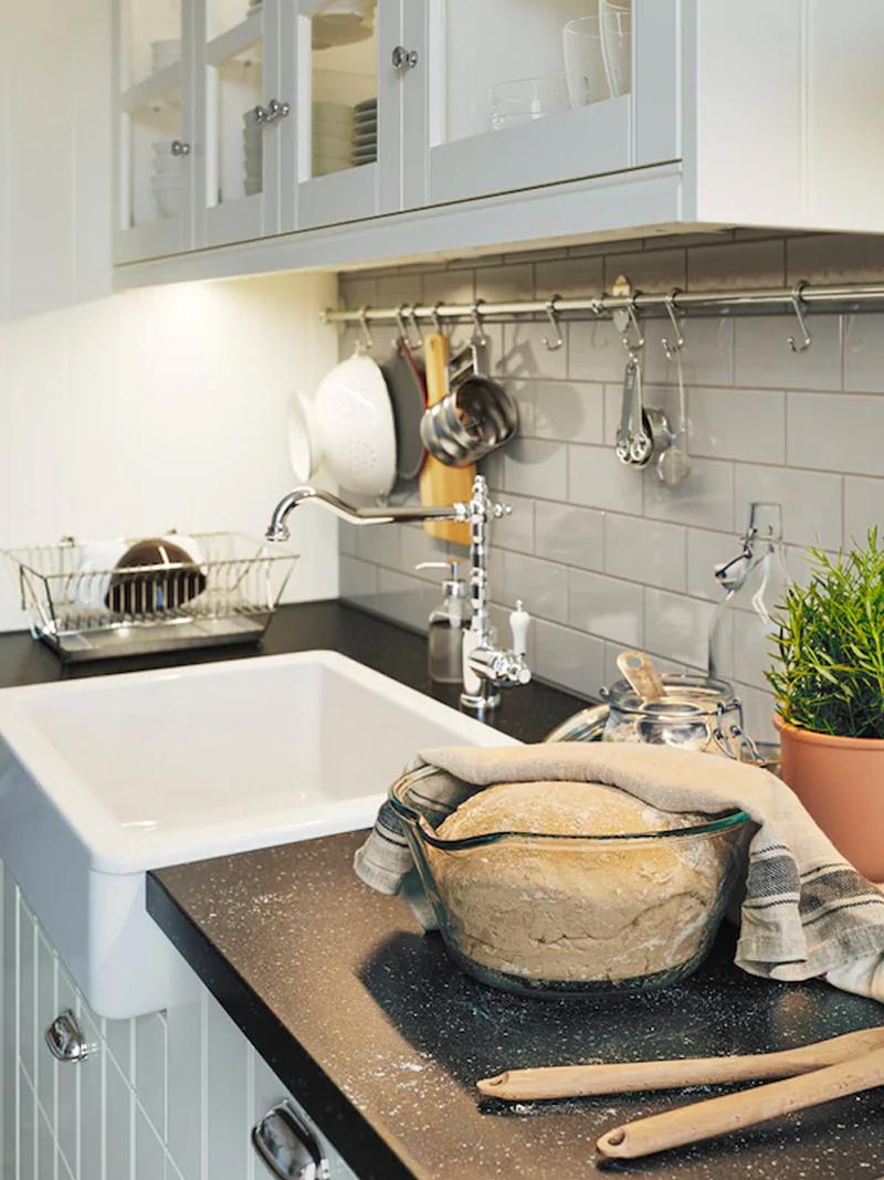 La cucina HITTARP bianco.