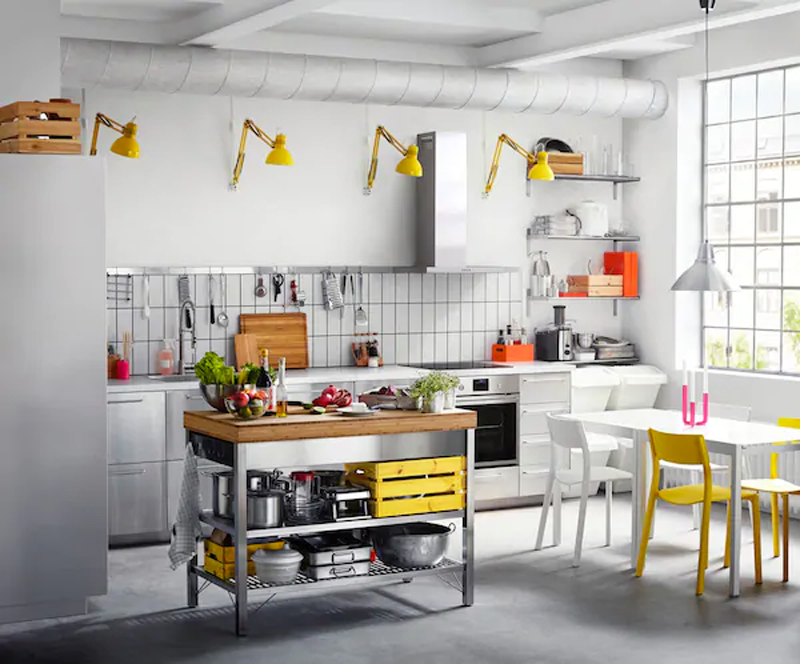 Cucina IKEA GREVSTA inox.