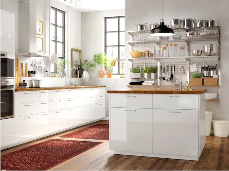 Il top cucina IKEA SKOGSÅ.