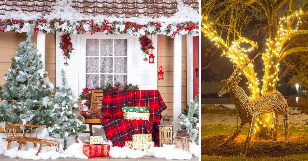 Accessori Natale.Addobbi Natalizi Per Esterno 20 Idee Per Un Natale Magico