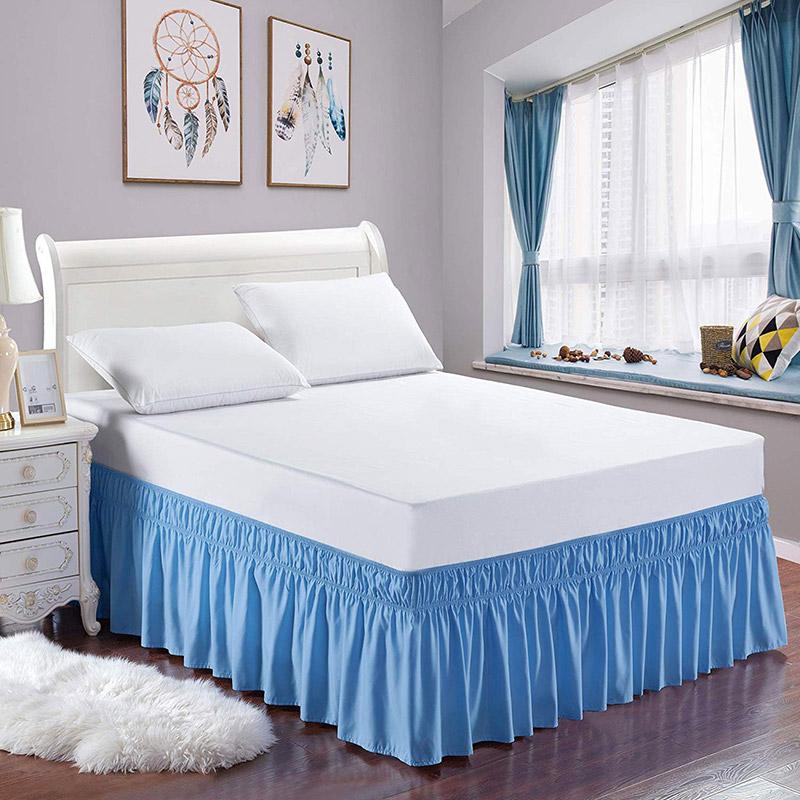Le mantovane per decorare il letto.