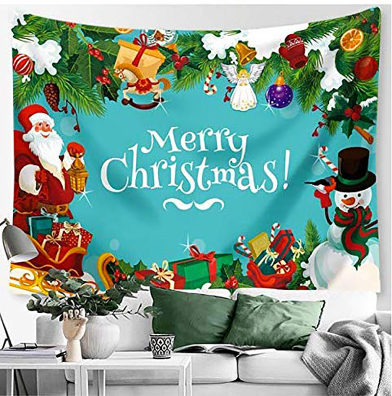 Telo natalizio da parete.