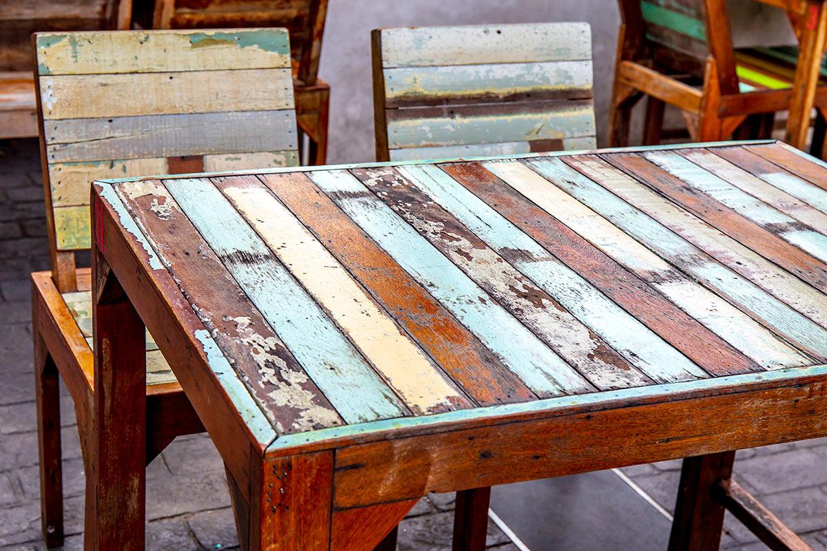 Verniciare Un Tavolo Di Legno dipingere mobili per creare arredi unici per la casa! 15