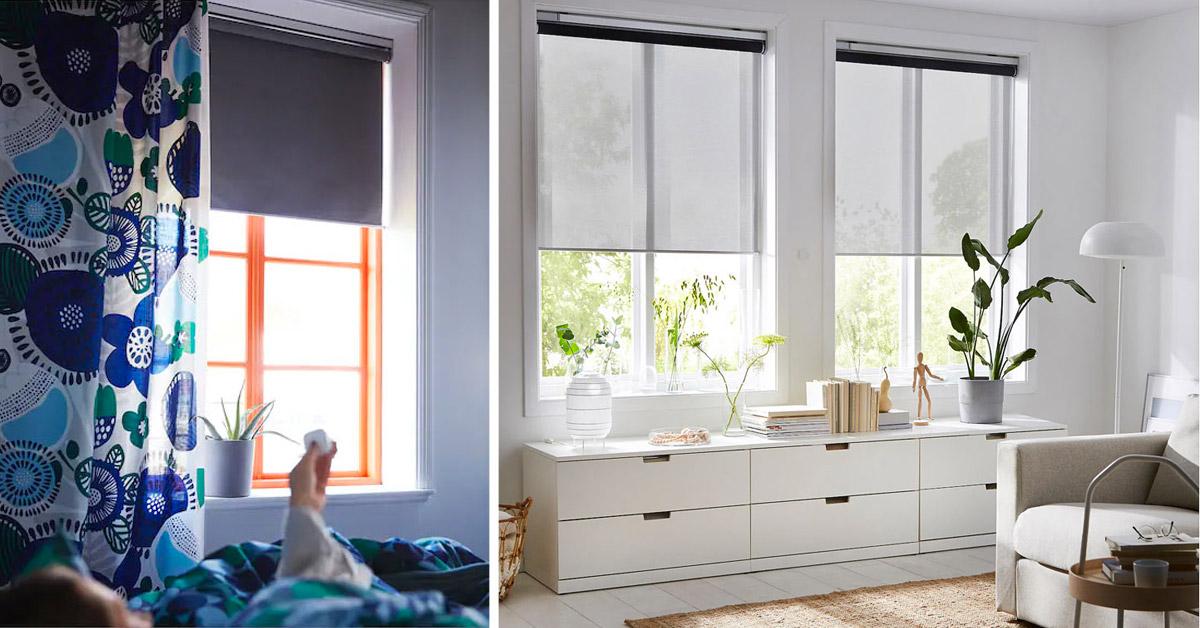 Tende smart IKEA, domotica low cost