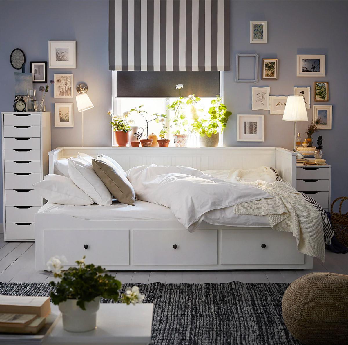 Il soggiorno Shabby con IKEA