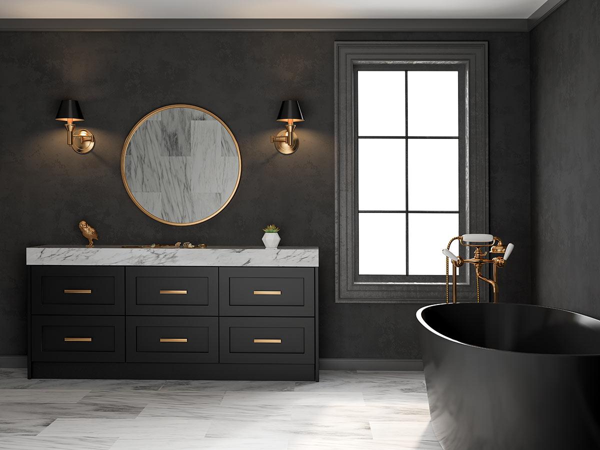 Bagno nero: 40 ispirazioni per un bagno di design...