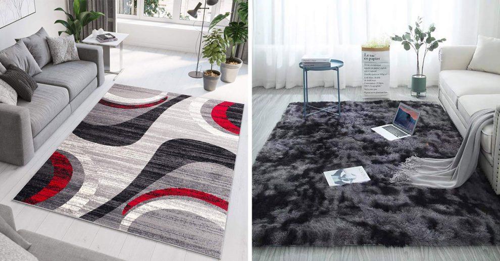 Idee per un tappeto moderno in salotto.