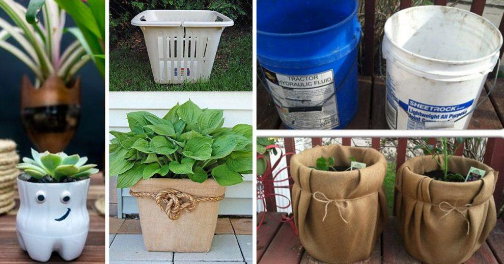 idee per riciclare contenitori di plastica