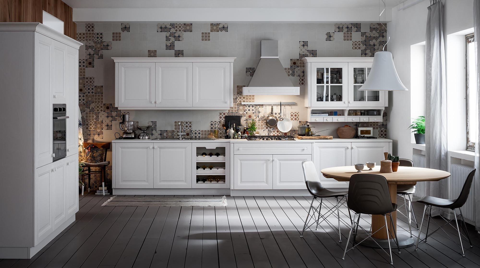 Veneta cucina modello Pavese colore bianco