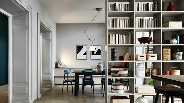 Zona living catalogo Veneta Cucine